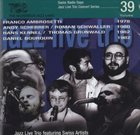 FRANCO AMBROSETTI Swiss Radio Days Jazz Live Trio Concert Series, Vol.39 album cover