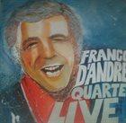 FRANCO D'ANDREA Franco D'Andrea Quartet Live album cover