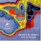 FRANCO D'ANDREA Live In Perugia album cover