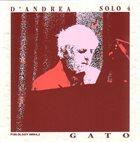 FRANCO D'ANDREA Solo 4 - Gato album cover