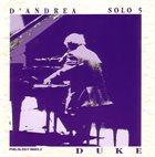 FRANCO D'ANDREA Solo 5 - Duke album cover
