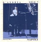 FRANCO D'ANDREA Solo 7 - Napoli album cover
