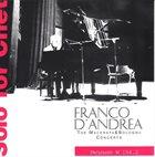 FRANCO D'ANDREA Solo For Chet album cover