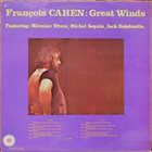 FRANÇOIS FATON CAHEN Great Winds album cover