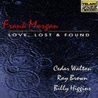 FRANK MORGAN Love, Lost & Found album cover