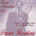 FRANK ROSOLINO Fond Memories Of . . . album cover
