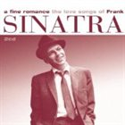 FRANK SINATRA A Fine Romance: The Love Songs of Frank album cover