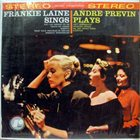 FRANKIE LAINE Frankie Laine Sings Andre Previn Plays album cover