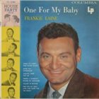 FRANKIE LAINE One For My Baby (1955) album cover