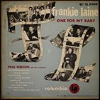 FRANKIE LAINE One For My Baby album cover