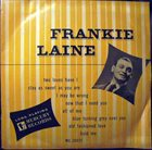 FRANKIE LAINE Frankie Laine (Mercury – MG 25025) album cover