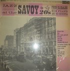 FRED ELIZALDE Jazz At The Savoy - The 20's album cover