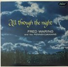 FRED WARING All Through The Night album cover