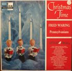 FRED WARING Christmas Time album cover