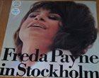 FREDA PAYNE Freda Payne In Stockholm (aka Freda Payne) album cover