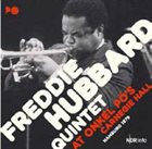 FREDDIE HUBBARD At Onkel Pö'S Carnegie Hall/Hamburg '79 album cover