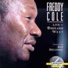 FREDDY COLE Live at Birdland West album cover