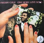 FREDDY COLE One More Love Song album cover