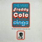 FREDDY COLE The Way Freddy Cole Sings (aka Sing) album cover