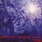 FRÉDÉRIC RABOLD Live album cover
