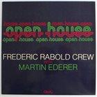 FRÉDÉRIC RABOLD Open House album cover