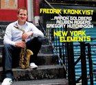 FREDRIK KRONKVIST New York Elements album cover