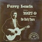 FURRY LEWIS 1927-9: The Early Years album cover
