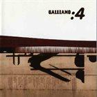 GALLIANO : 4 album cover