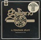 GALLIANO A Thicker Plot - Remixes 93-94 album cover