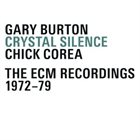 GARY BURTON Crystal  Silence The ECM Recordings 1972-79 album cover