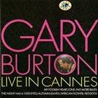GARY BURTON Live in Cannes album cover
