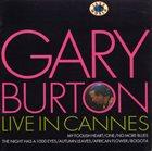 GARY BURTON Live in Cannes album cover