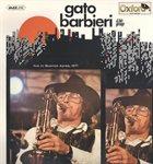 GATO BARBIERI Live in Buenos Ayres, 1971 album cover
