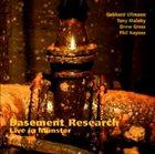 GEBHARD ULLMANN Basement Research Live in Münster album cover
