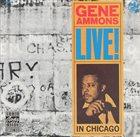 GENE AMMONS Live! In Chicago album cover