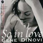 GENE DINOVI So in Love album cover