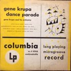 GENE KRUPA Dance Parade album cover