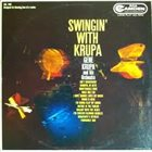 GENE KRUPA Swingin' With Krupa album cover