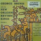 GEORG BRUNIS (GEORGE BRUNIES) George Brunis New Orleans Rhythm Kings   Volume 2 album cover