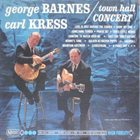 GEORGE BARNES Town Hall Concert album cover