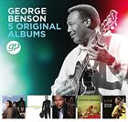 GEORGE BENSON 5 Original Albums album cover