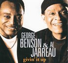 GEORGE BENSON Givin' Up (with Al Al Jarreau) album cover