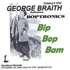 GEORGE BRAITH Bip Bop Bam album cover