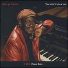 GEORGE CABLES You Don't Know Me album cover