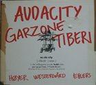 GEORGE GARZONE George Garzone, Frank Tiberi : Audacity album cover