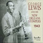 GEORGE LEWIS (CLARINET) New Orleans Stompers 1943 album cover
