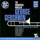 GEORGE MASSO The Wonderful World of George Gershwin (Jazz Live at the Musikhalle, Vol.1) album cover