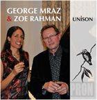GEORGE MRAZ George Mraz and Zoe Rahamn : Jazz at Greville Lodge Vol.3 album cover