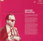 GEORGE SHEARING A Jazzy Date With George Shearing album cover