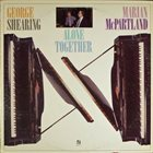 GEORGE SHEARING George Shearing, Marian McPartland ‎: Alone Together album cover